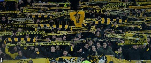 Young Boys supporters
