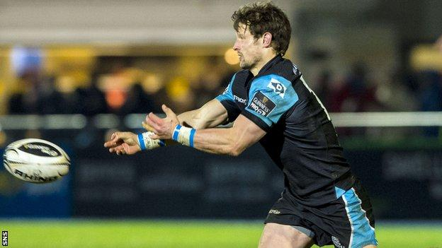 Glasgow Warriors fly-half Peter Horne