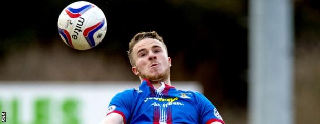 Marley Watkins is Inverness' top scorer this season with seven goals