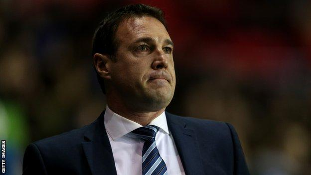 Wigan manager Malky Mackay