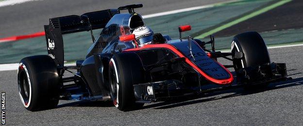 Kevin Magnussen of McLaren