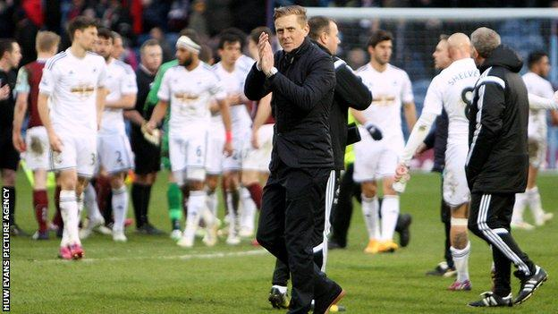 Garry Monk was appointed Swansea City's permanent manager in May 2014