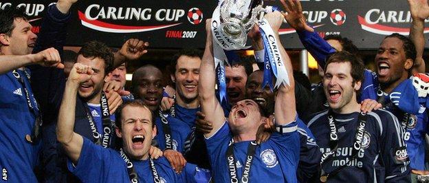 Chelsea League Cup win