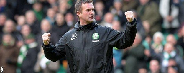 Ronny Deila was delighted to see his side go six points clear of the second-placed Dons