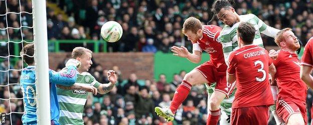 Jason Denayer scores for Celtic