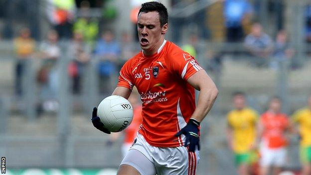 Armagh's Mark Shields