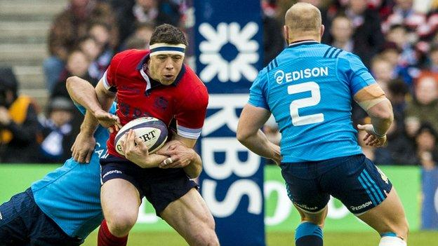 Al Dickinson was left frustrated by the refereeing of the scrummage during Scotland's defeat to Italy.
