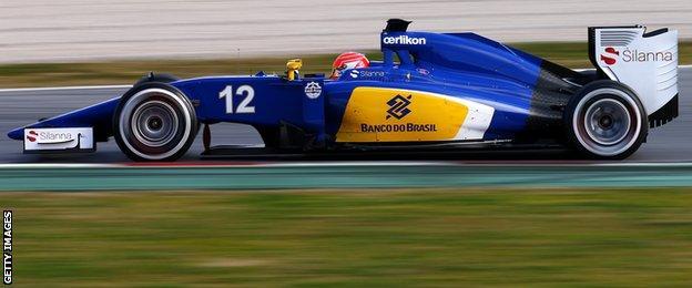 Sauber - Felipe Nasr