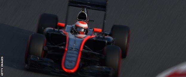 McLaren - Jenson Button