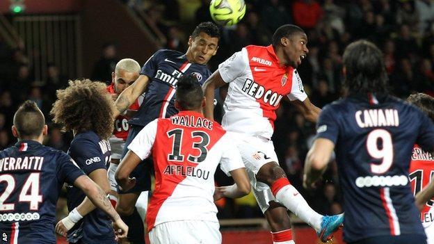 Monaco v Paris Saint-Germain