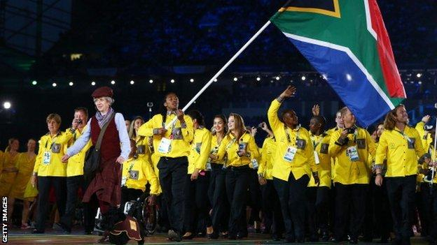 South Africa at Glasgow Commonwealth Games