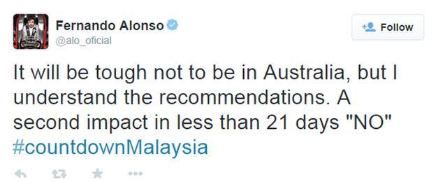 Fernando Alonso: McLaren driver to miss Australian Grand Prix