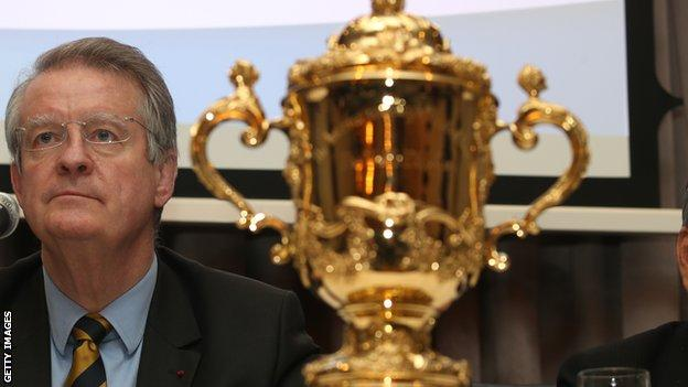 World Rugby chairman Bernard Lapasset