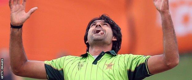 Pakistan paceman Mohammad Irfan