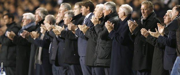 Former Tottenham players pay tribute to Dave Mackay