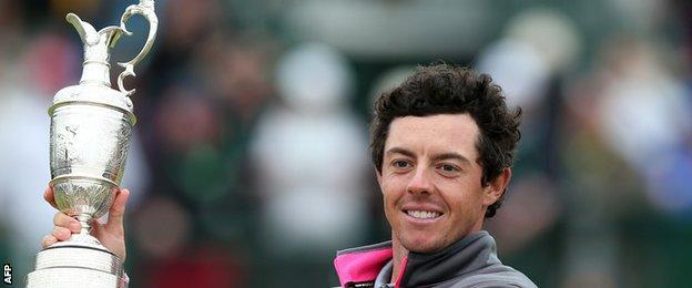 Rory McIlroy has won three of golf's four majors