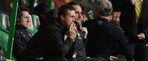 Ronny Deila had led his team to 11 domestic games unbeaten before the St Johnstone game.