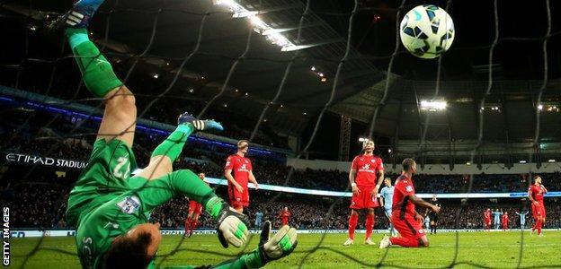 Manchester City v Leicester City