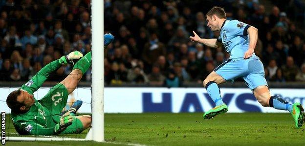 Manchester City v Leicester