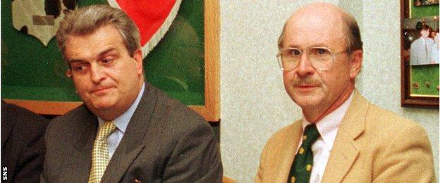 Brian Dempsey and Fergus McCann