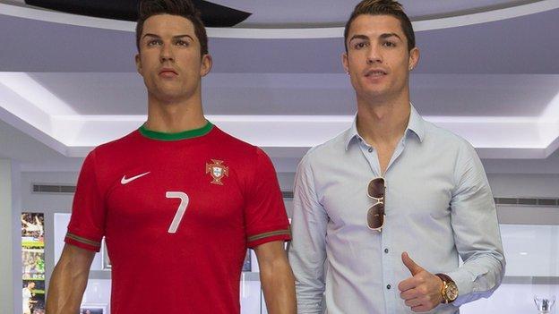 Cristiano Ronaldo waxwork