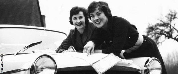 Ann Wisdom and Pat Moss