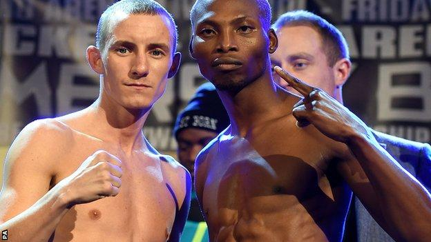 Paul Butler (left) and Zolani Tete