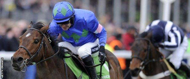 Ruby Walsh on Hurricane Fly