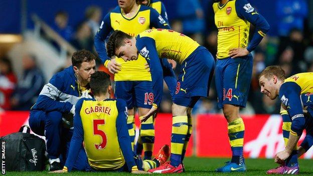 Gabriel was making his second Arsenal start at Loftus Road