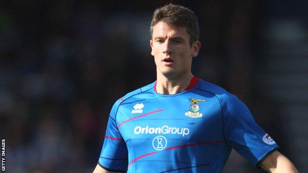Inverness Caledonian Thistle brought Owain Tudur Jones to Scottish football in July 2011