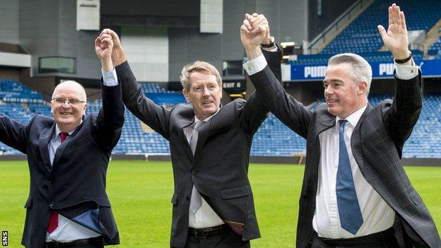 John Gilligan, Dave King and Paul Murray