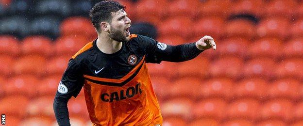 Dundee United forward Nadir Ciftci
