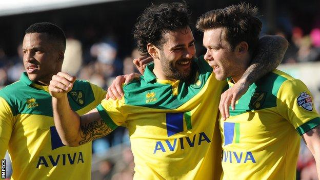 Bradley Johnson and Jonny Howson