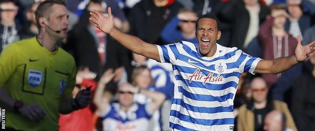 Rio Ferdinand appeals for a penalty