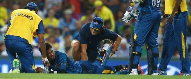 Sri Lanka batsman Dinesh Chandimal