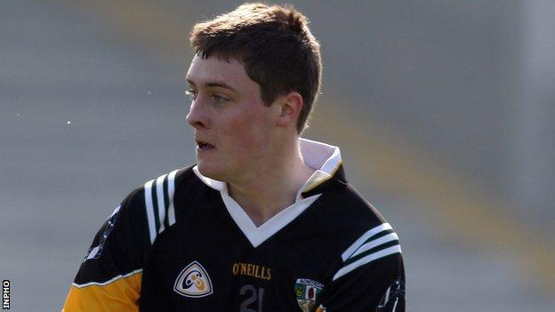 CJ McGourty of Antrim