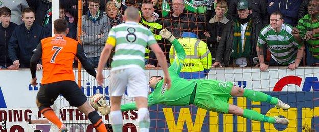 Nadir Ciftci scores from the spot