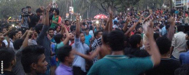 Celebrations in Dhaka