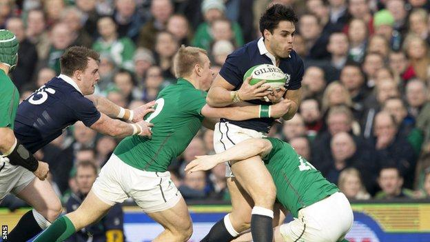 Sean Maitland could return for Scotland after injury.