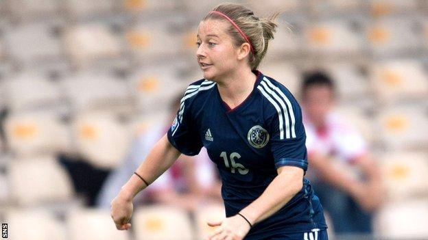 Christie Murray headed a winner for Scotland after 89 minutes.