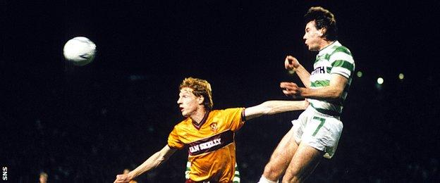 Brian McClair played for Motherwell, Celtic and Manchester United.