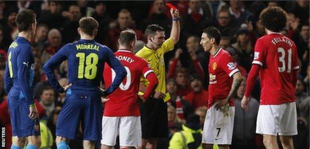 Manchester Untied v Arsenal