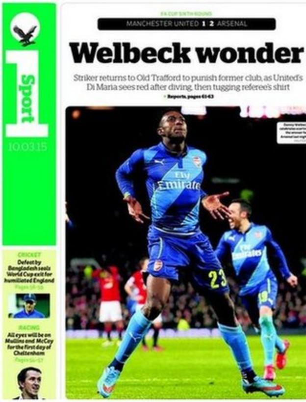 Independent back page