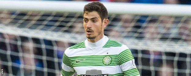 Celtic midfielder Nir Bitton