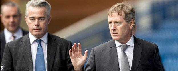 Paul Murray and Dave King