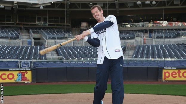 Andy Murray Baseball