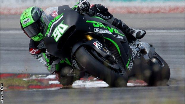 Eugene Laverty previously competed in the 250cc class in MotoGP