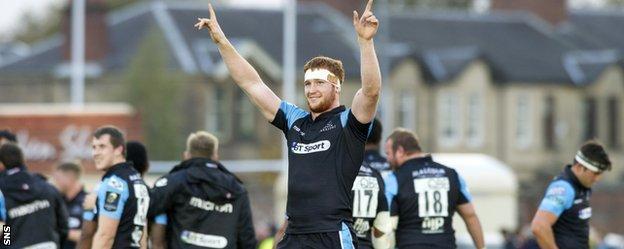 Glasgow's Rob Harley