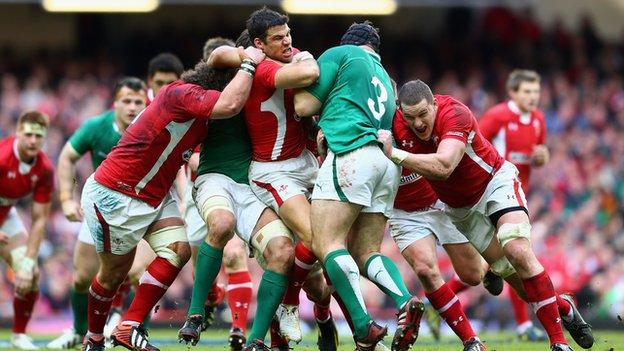 Wales v Ireland encounters in the Six Nations are fast, furious and fiercely contested