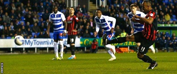 Chris O'Grady equalised from the spot for Brighton